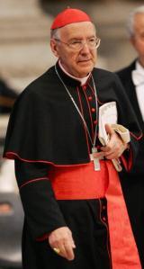 Italian Cardinal Francesco Marchisano at